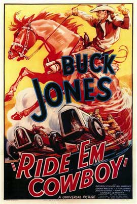 Ride 'Em Cowboy - 11 x 17 Movie Poster - Style A