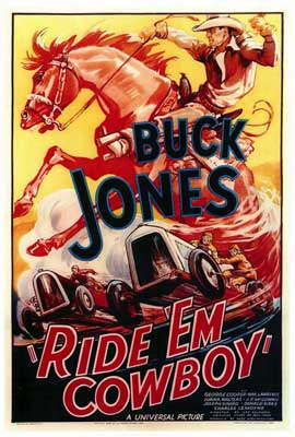 Ride 'Em Cowboy - 27 x 40 Movie Poster - Style A