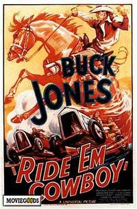 Ride 'Em Cowboy - 43 x 62 Movie Poster - Bus Shelter Style A