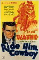 Ride Him Cowboy - 11 x 17 Movie Poster - Style A