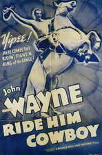 Ride Him Cowboy - 11 x 17 Movie Poster - Style B