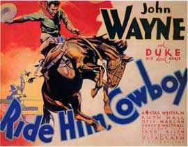 Ride Him Cowboy - 11 x 14 Movie Poster - Style A