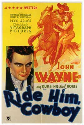 Ride Him Cowboy - 27 x 40 Movie Poster - Style A