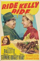 Ride, Kelly, Ride - 11 x 17 Movie Poster - Style A