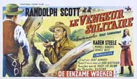 Ride Lonesome - 11 x 17 Movie Poster - Belgian Style A