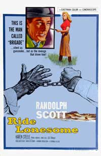Ride Lonesome - 43 x 62 Movie Poster - Bus Shelter Style C