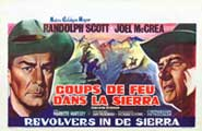 Ride the High Country - 27 x 40 Movie Poster - Belgian Style A