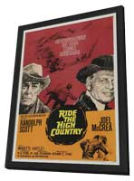 Ride the High Country - 11 x 17 Movie Poster - Style A - in Deluxe Wood Frame