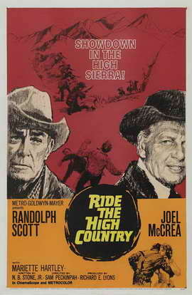 Ride the High Country - 11 x 17 Movie Poster - Style A