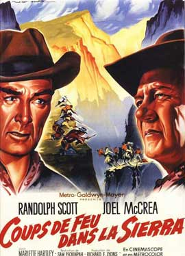Ride the High Country - 11 x 17 Movie Poster - French Style A