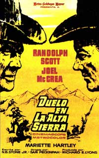 Ride the High Country - 11 x 17 Movie Poster - Spanish Style A