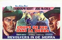 Ride the High Country - 11 x 17 Movie Poster - Belgian Style A