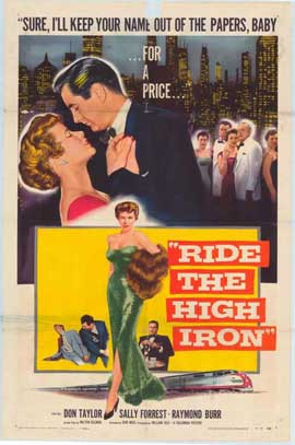 Ride the High Iron - 11 x 17 Movie Poster - Style A