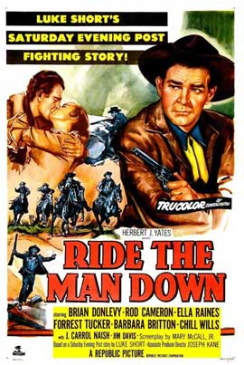 Ride the Man Down - 11 x 17 Movie Poster - Style A