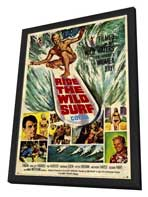 Ride the Wild Surf - 11 x 17 Movie Poster - Style A - in Deluxe Wood Frame