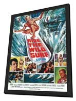 Ride the Wild Surf - 27 x 40 Movie Poster - Style B - in Deluxe Wood Frame
