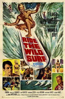 Ride the Wild Surf - 11 x 17 Movie Poster - Style A