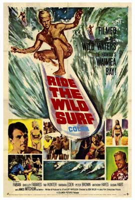 Ride the Wild Surf - 27 x 40 Movie Poster - Style A