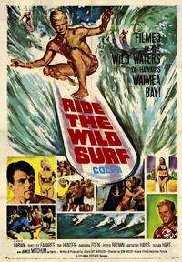 Ride the Wild Surf - 43 x 62 Movie Poster - Bus Shelter Style A