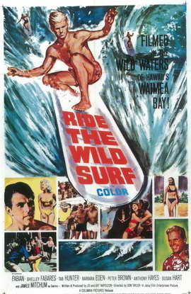 Ride the Wild Surf - 11 x 17 Movie Poster - Style C