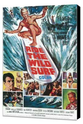 Ride the Wild Surf - 27 x 40 Movie Poster - Style B - Museum Wrapped Canvas