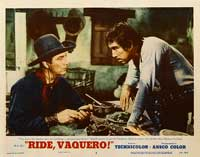 Ride, Vaquero! - 11 x 14 Movie Poster - Style D
