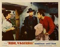 Ride, Vaquero! - 11 x 14 Movie Poster - Style E