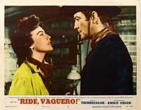 Ride, Vaquero! - 11 x 14 Movie Poster - Style G