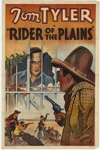 Rider of the Plains - 11 x 17 Movie Poster - Style A