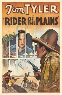 Rider of the Plains - 27 x 40 Movie Poster - Style A