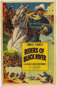 Riders of Black River - 11 x 17 Movie Poster - Style A