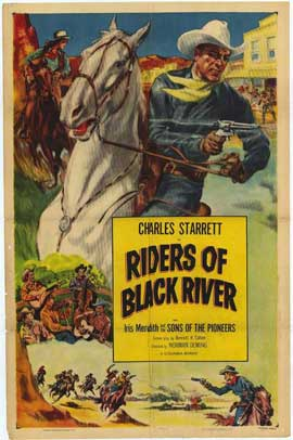 Riders of Black River - 27 x 40 Movie Poster - Style A