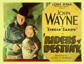 Riders of Destiny - 11 x 14 Movie Poster - Style A