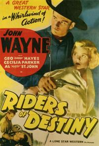 Riders of Destiny - 11 x 17 Movie Poster - Style A