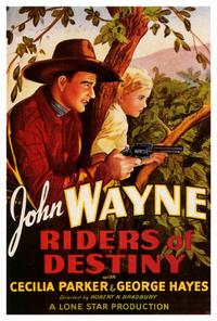 Riders of Destiny - 27 x 40 Movie Poster - Style B