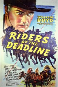 Riders of the Deadline - 11 x 17 Movie Poster - Style A