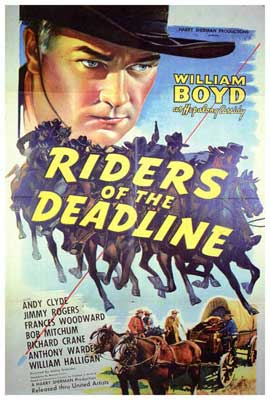 Riders of the Deadline - 27 x 40 Movie Poster - Style A