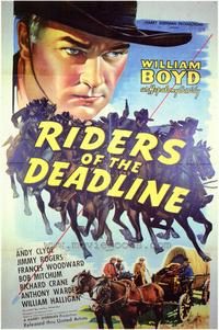 Riders of the Deadline - 43 x 62 Movie Poster - Bus Shelter Style A