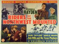 Riders of the Northwest Mounted - 11 x 14 Movie Poster - Style D