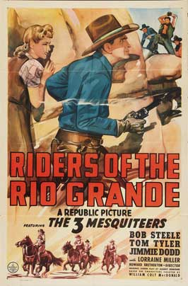 Riders of the Rio Grande - 11 x 17 Movie Poster - Style A