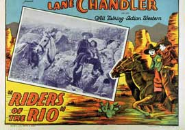 Riders of the Rio - 11 x 14 Movie Poster - Style A