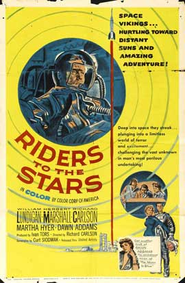 Riders to the Stars - 11 x 17 Movie Poster - Style A