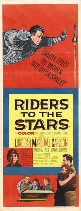 Riders to the Stars - 14 x 36 Movie Poster - Insert Style A