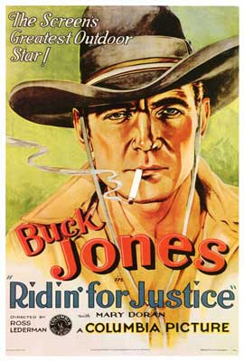 Ridin' for Justice - 27 x 40 Movie Poster - Style B
