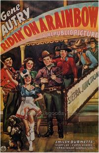 Ridin' on a Rainbow - 27 x 40 Movie Poster - Style B