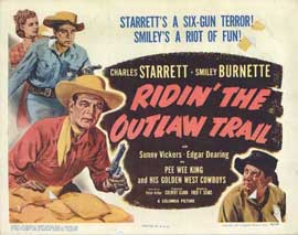Ridin' the Outlaw Trail - 11 x 14 Movie Poster - Style A