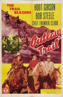 Ridin' the Outlaw Trail - 11 x 17 Movie Poster - Style A