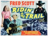 Ridin' the Trail - 11 x 14 Movie Poster - Style A