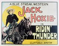 Ridin' Thunder - 11 x 14 Movie Poster - Style A