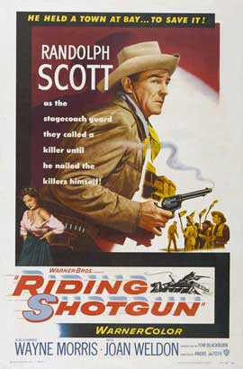 Riding Shotgun - 27 x 40 Movie Poster - Style A